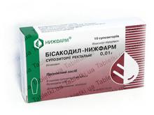 Бисакодил-Нижфарм